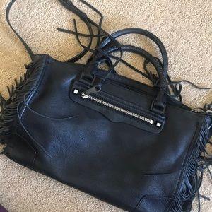 Rebecca minkoff fringe bag, with side strap